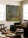 Dennenbos Kunst van Gustav Klimt