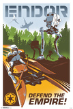 Star Wars- Endor: Defend The Empire Pôsters
