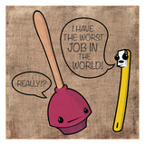 Worst Job Pôsters por Enrique Rodriquez Jr