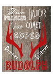 All Of The Other Reindeer Poster di Sheldon Lewis