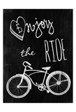 Enjoy The Ride Poster di Sheldon Lewis