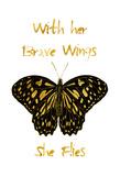 Brave Wings Póster por Sheldon Lewis