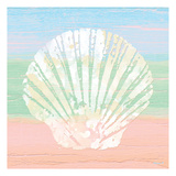 Pastel Coastal 1 Posters by Alonzo Saunders