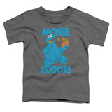 Toddler: Sesame Street- More Cookies T-shirts