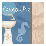 Breathe Sink Stampa di Lauren Gibbons