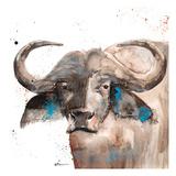 Buffalo Art by Victoria Brown