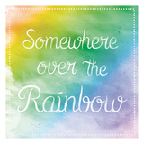 Over The Rainbow Arte por Lauren Gibbons