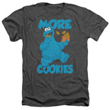 Sesame Street- More Cookies T-shirts