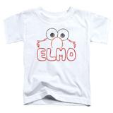 Toddler: Sesame Street- Elmo Stencil Letters Shirt