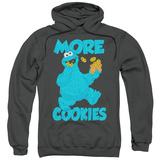 Hoodie: Sesame Street- More Cookies Pullover Hoodie