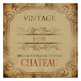 Vintage Chateau Posters par Victoria Brown