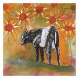 Farm Animal Poster par Beverly Dyer