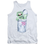Tank Top: Sesame Street- Oscar About That Street Life Tank Top