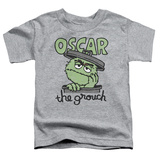 Toddler: Sesame Street- Grouch In A Can T-shirts
