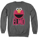Crewneck Sweatshirt: Sesame Street- Big Smile Elmo Shirts