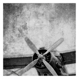 Vintage Plane Engine_82531 BW Posters av May May