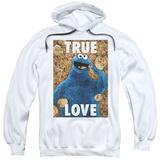 Hoodie: Sesame Street- Cookie Monster True Love Pullover Hoodie
