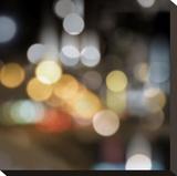 City Lights I Opspændt lærredstryk af Kate Carrigan