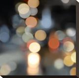 City Lights II Opspændt lærredstryk af Kate Carrigan