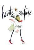 Haute Couture Poster di Alicia Zyburt