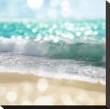 Ocean Reflections II Opspændt lærredstryk af Kate Carrigan