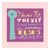 La clé Affiches par Ashley Davis