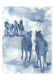 Thundering Hooves Poster av Beverly Dyer