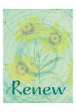Renew Flora Poster di Jessica Vonammon