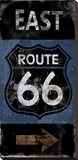 Route 66 East Stretched Canvas Print by Luke Wilson