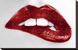 Luscious Red Sträckt kanvastryck av Sarah Mcguire