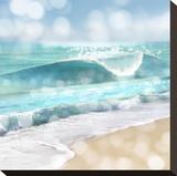 Ocean Reflections I Opspændt lærredstryk af Kate Carrigan