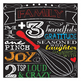 Family Plus Three Poster by Melody Hogan