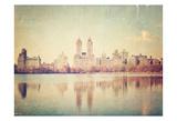 Central Park Mirror Affiches par Ashley Davis