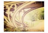 Central Park Mile Bridge Affiche par Ashley Davis