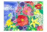 Fresh Flowers Pósters por Laurie Korsgaden