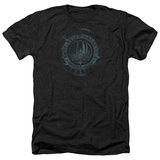 Battle Star Galactica- Faded Insignia T-Shirt