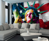 Patrice Murciano Statue of Liberty Wall Mural 壁紙ミューラル : パトリス・ムルシアーノ