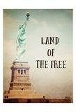 Land of The Free Affiches par Ashley Davis