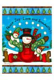 Love And Snowballs Posters par Laurie Korsgaden
