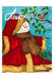 Amour Poster par Laurie Korsgaden