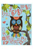 Owl Set Numlet 2 Print by Melody Hogan