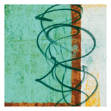 New Abstract 2 Poster by Alonzo Saunders