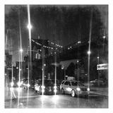 Travel To Brooklyn Bridge Poster di Sheldon Lewis