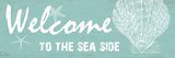 Sea Side Lámina por Sheldon Lewis