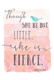 Little Fierce Poster von Ashley Davis