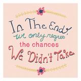 In The End Affiche par Ashley Davis