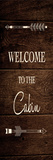 Welcome Cabin Láminas por Victoria Brown