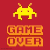 Game Over Alien Mort Posters