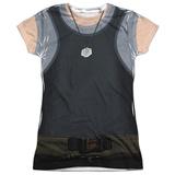Juniors: Battle Star Galactica- Uniform Costume Tee Womens Sublimated