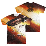 Battle Star Galactica- Ragtag Fleet (Front/Back) Sublimated
